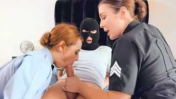 Blair Williams and Scarlet Johnson: Two Cops In Heat