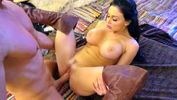 Well-formed female Aletta Ocean is penetrated by her new partner's room